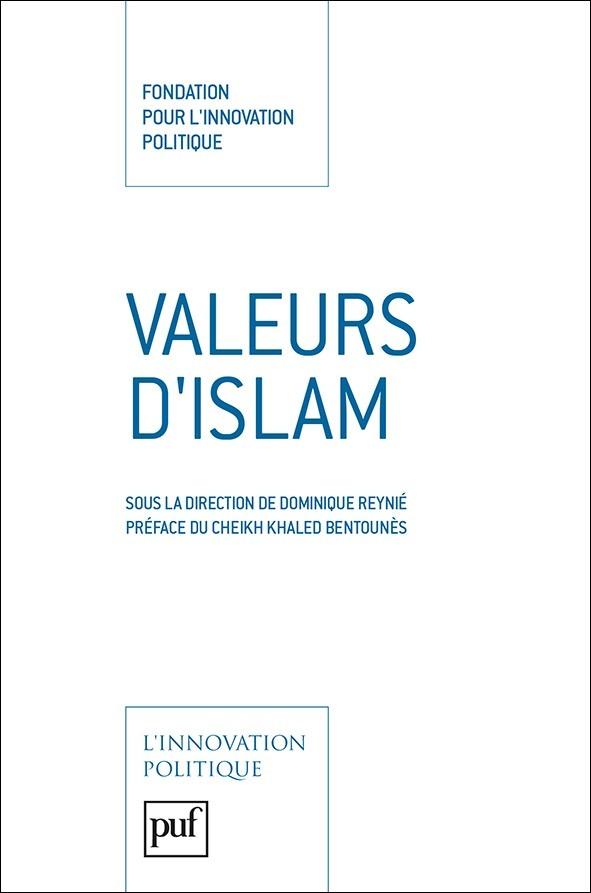 Livre Valeurs d'islam